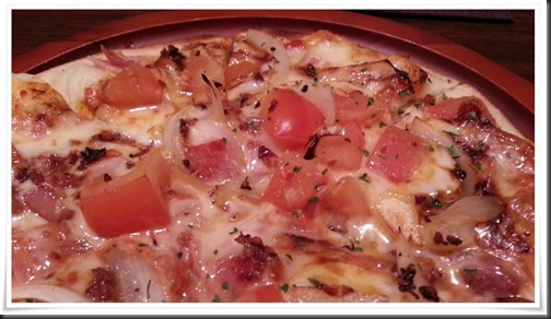 トマトが美味しそう@ドラゴピッツァ