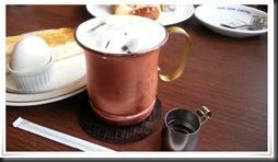 銅製のカップが最高@星乃珈琲店