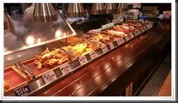 天婦羅の数々@丸亀製麺
