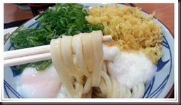 とろ玉うどん麺アップ@丸亀製麺