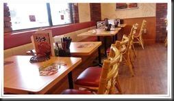 テーブル席@すき家 八幡東枝光店