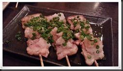 豚バラおろしポン酢@炭火焼き とり八