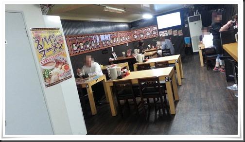 テーブル席@ばさらか黒崎店