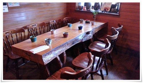 8人掛けテーブル席@喫茶 園