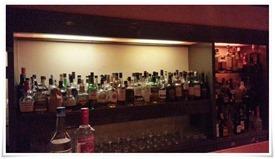 ボトルの数々@Bar avancer(アヴァンセ)