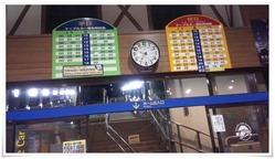 ケーブルカー時刻表@皿倉山星空ビアガーデン