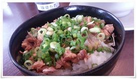 ミニチャーシュー丼@麺屋 新月