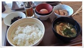 からあげ朝食@すき家 3号小倉北到津店