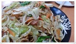 野菜たっぷり韓辛焼そば@焼麺屋 虎之介