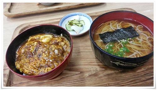 カレー丼セット登場@鶴亀