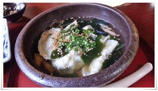 スープ餃子@餃子の味味(みみ)