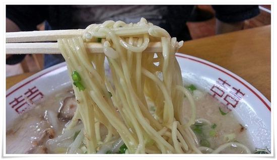 今回細麺を選択@ラーメン壱番亭