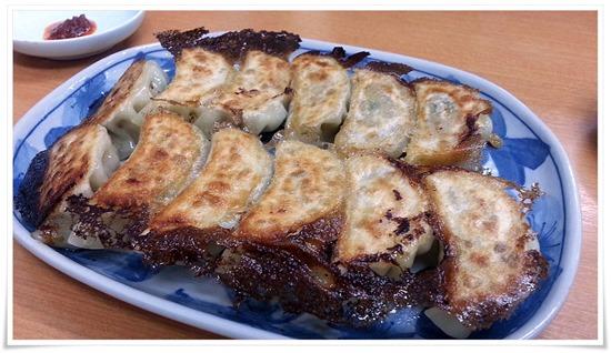 手作り焼餃子@焼麺屋 虎之介