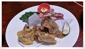 これはサービスの品@活魚料理 鳥勝