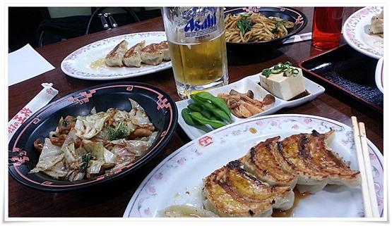 ビールSETの数々@餃子の王将 小倉駅前店