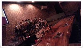 ボトルの数々@Dining Bar Liquid