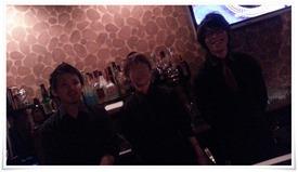 元気一杯のスタッフ@Dining Bar Liquid