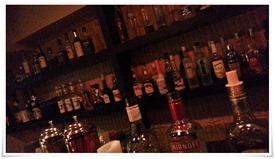 ボトルの数々@CafeDiners LOCO
