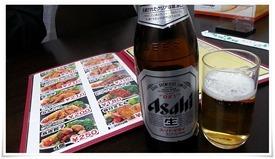 瓶ビール@もり山 小倉・旦過市場店