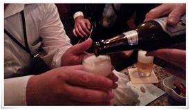 瓶ビール@SNACK オリーブ