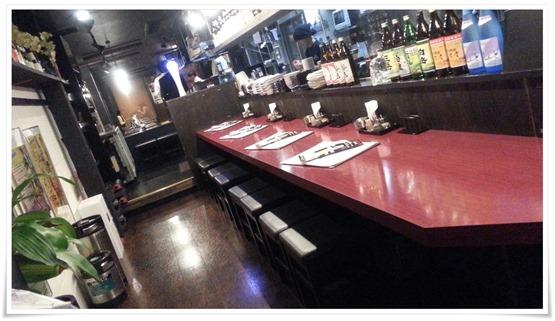 カウンター席@とりのてつ 魚町店
