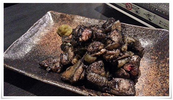 鶏もも肉の炭火焼@とりのてつ 魚町店