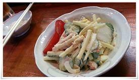 本日のサラダ@活魚料理 鳥勝