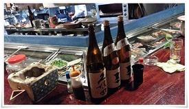 ネタケースにズラリ@かちかち山 黒崎店