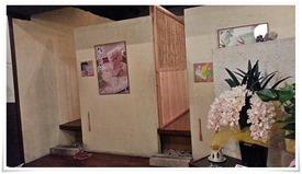 個室のテーブル席@町屋カフェ太郎茶屋鎌倉
