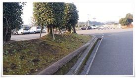 広々とした駐車場@飫肥城