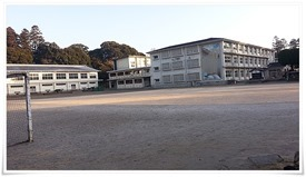飫肥城内に小学校が