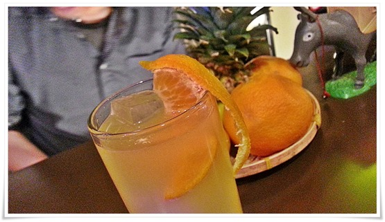 オレンジのカクテル@REVOLVER(リボルバー)