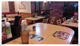 テーブル席@すき家 八幡枝光店