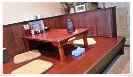 テーブル席@小倉うどん竜屋