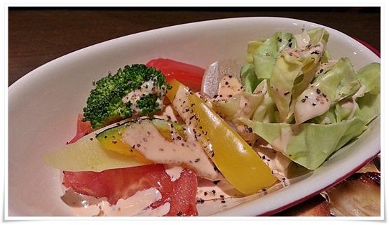 温野菜のサラダ@cafe 桜亭