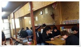 テーブル席@永ちゃん食堂