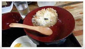 ご飯を残してしまいました@永ちゃん食堂