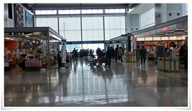 国際線入口@北九州空港