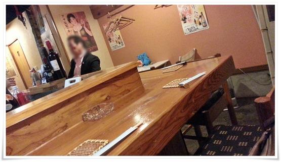 めだか食堂@黒崎 カウンター席