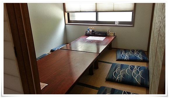 個室はこんな感じ@和風レストランやひろ