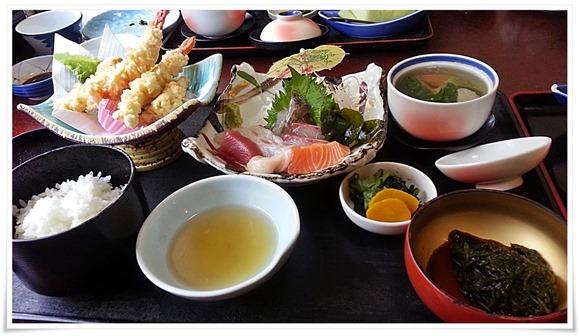 やひろ特上定食の一部@和風レストランやひろ