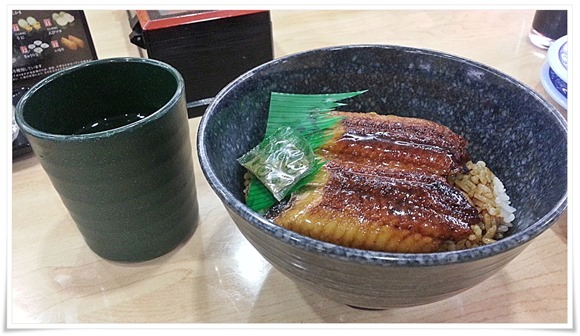 すしやのうな丼580円@くら寿司 小倉到津店