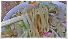 麺は普通のチャンポン麺@末広食堂