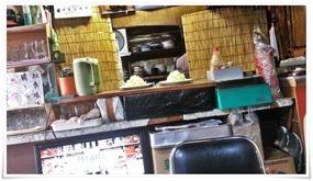 キャベツが盛られています@末広食堂