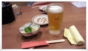 生ビール&お通し@西本町 くわんかや