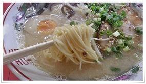 極細麺を選択@ラーメン壱番亭