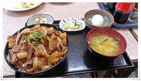 スタミナ豚丼大盛り@まんなおし食堂