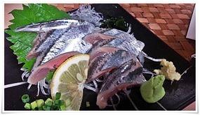 やきとり王将の激旨秋刀魚のお刺身