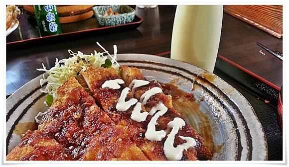 マヨネーズトッピング@とり安食堂 曽根店