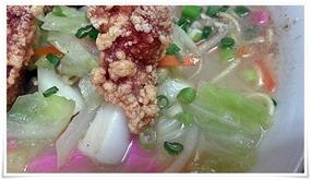 から揚げちゃんぽんの野菜@龍昌(りゅうしょう)